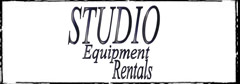 Studio Equipment Rentals